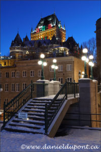 Photographier Québec la nuit