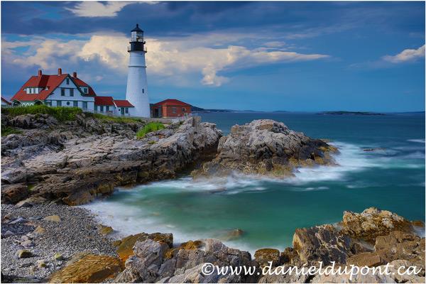 Rapport de l'atelier : Photographier la côte du Maine.