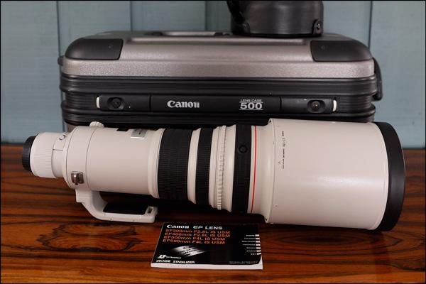 Canon 500mm f4 IS USM usagé